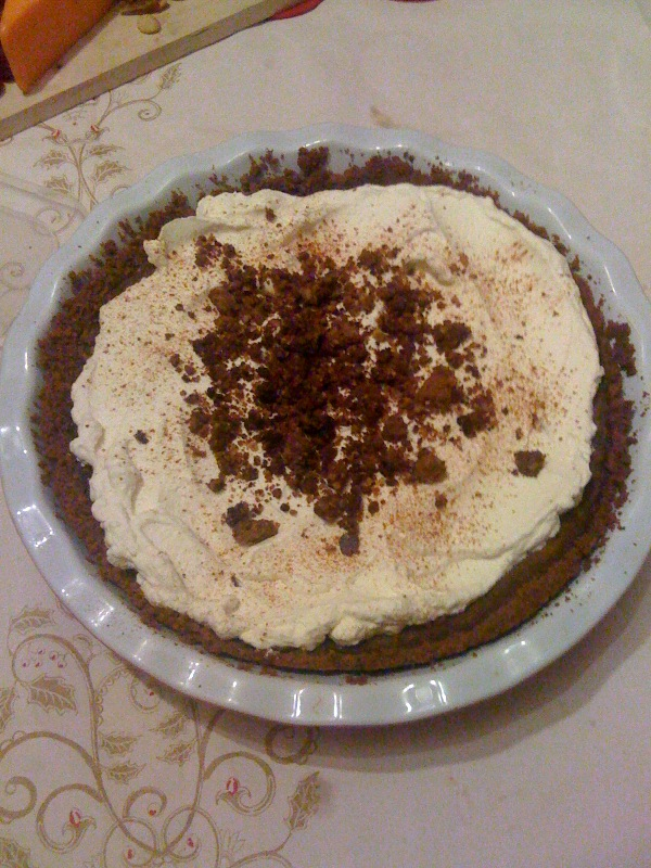 Bobby Flay's Pumpkin Pie with Cinnamon Crunch & Maple ...